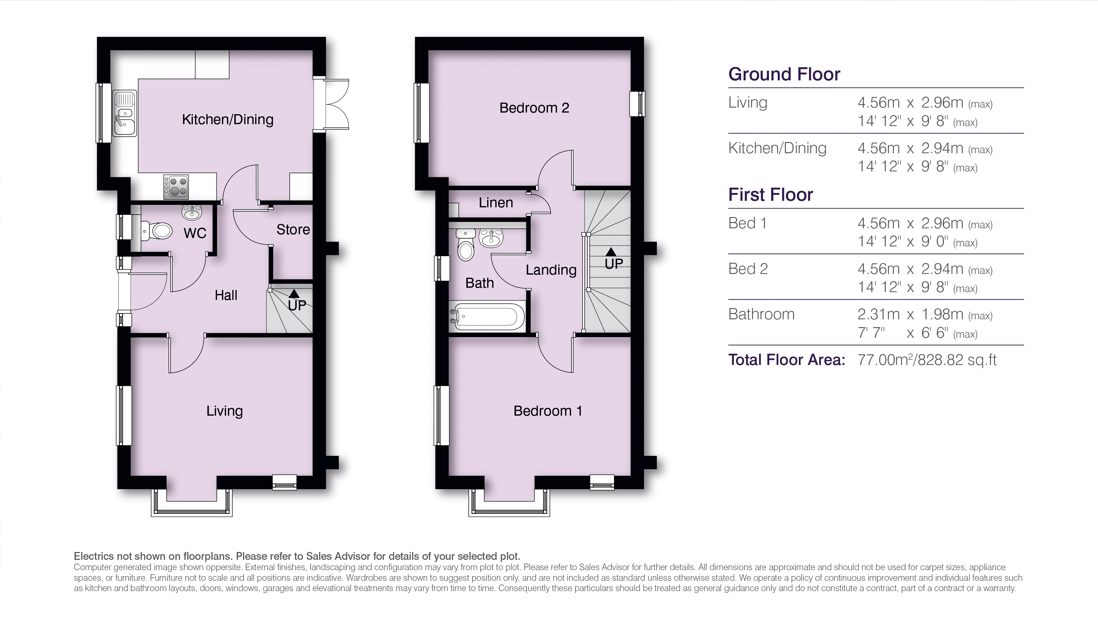 Boleyn Floor Plans H Res