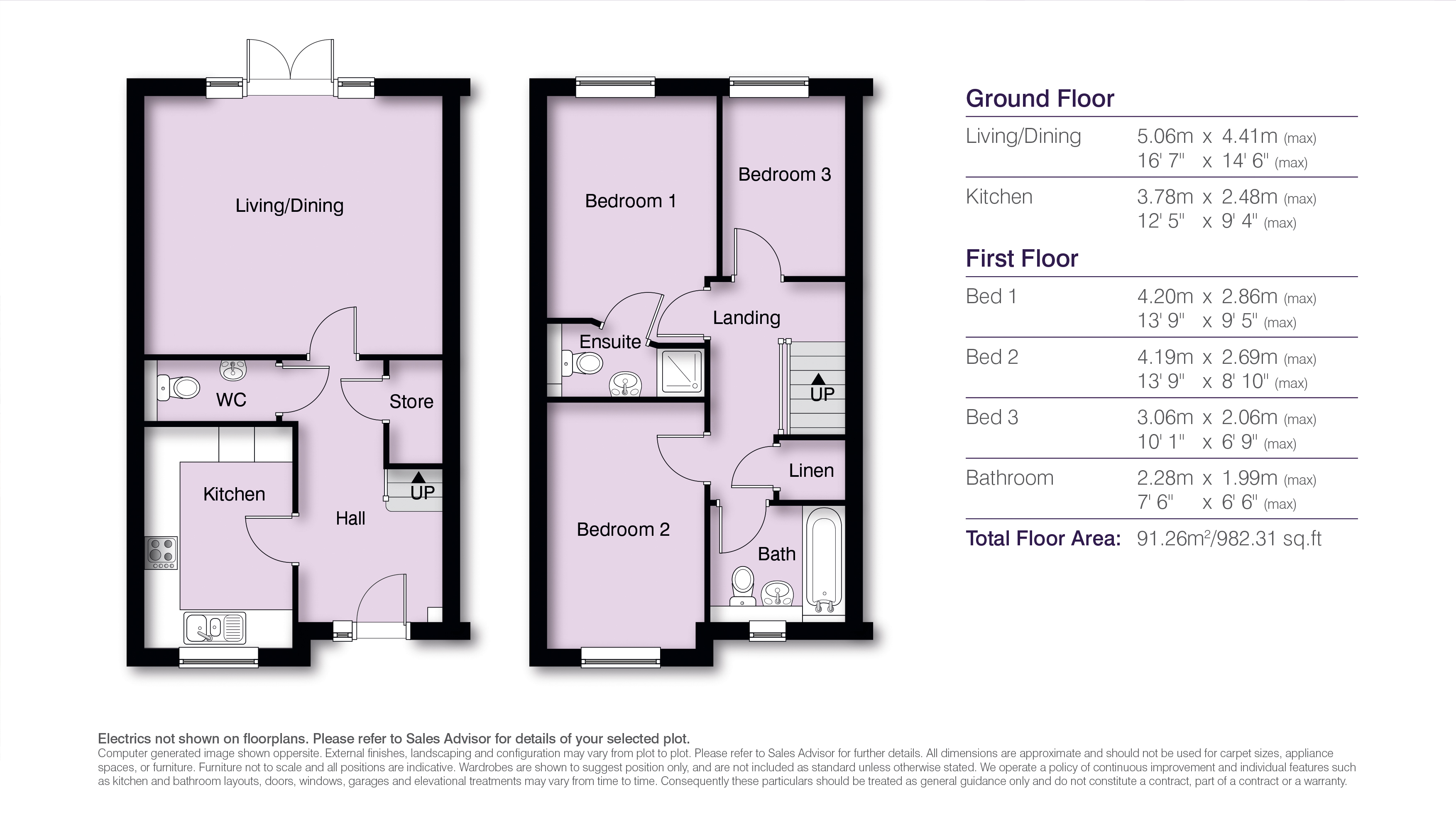 Seymour Floor Plans H Res
