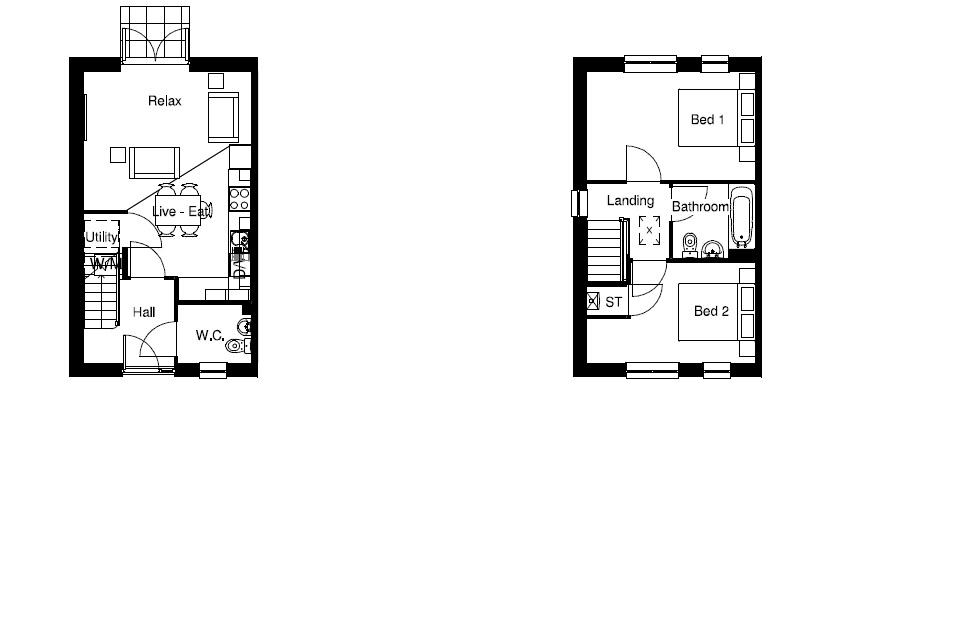 Floor Plan Plots 65 & 66