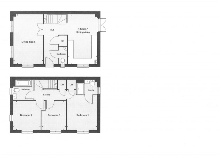 Hall Green Floor Plan Plot 132