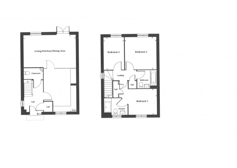 Hall Green Floor Plan 49 50 51
