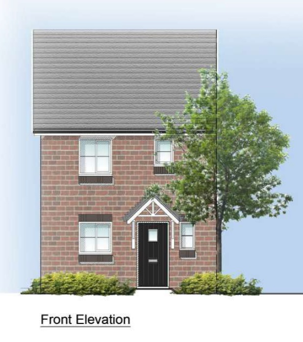 Eastward Front Elevation 2 Bed