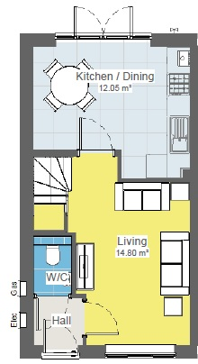 Joiner 2 Bed Gf Plan