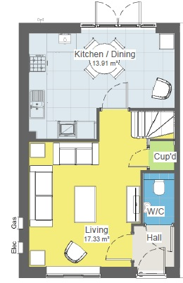 Tailor 3 Bed Gf Plan