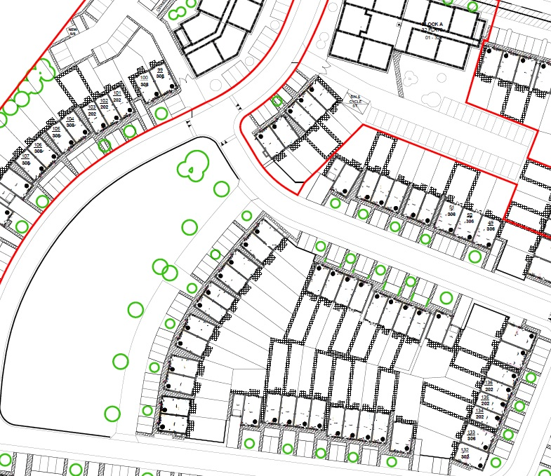 Hall Green Site Plan Mar 2020