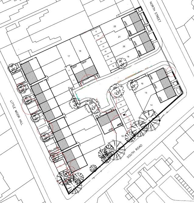 Little Moor Site Plan