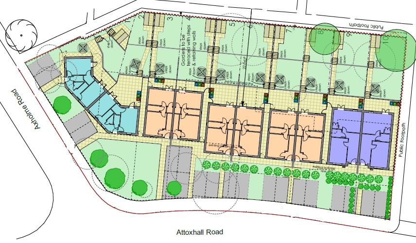 Belgrave Site Plot Plan
