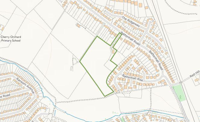 Battenhall Location
