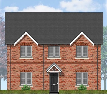 Hiswick Front Elevation