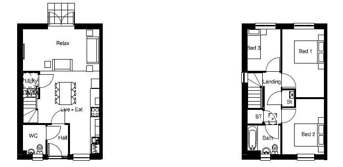 Floor Plan Plots 3b